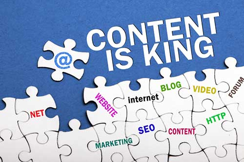 Content Writing, Content is King